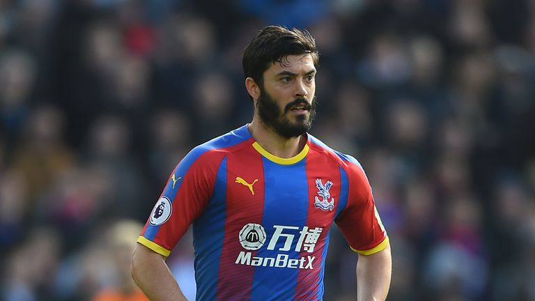 Tomkins  is nearing a Palace return after suffering a groin injury in April