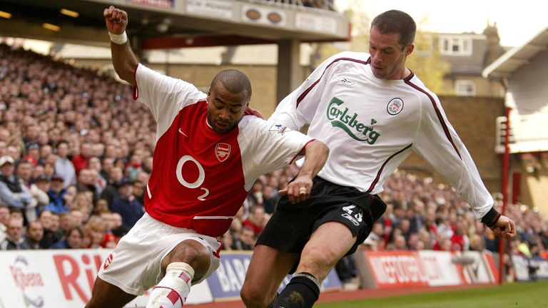 Carragher hated playing against the famous Arsenal side of 2002 to 2004