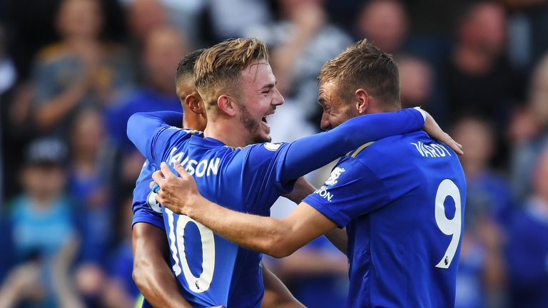 Leicester suffered their first defeat of the Premier League season against Manchester United on Saturday