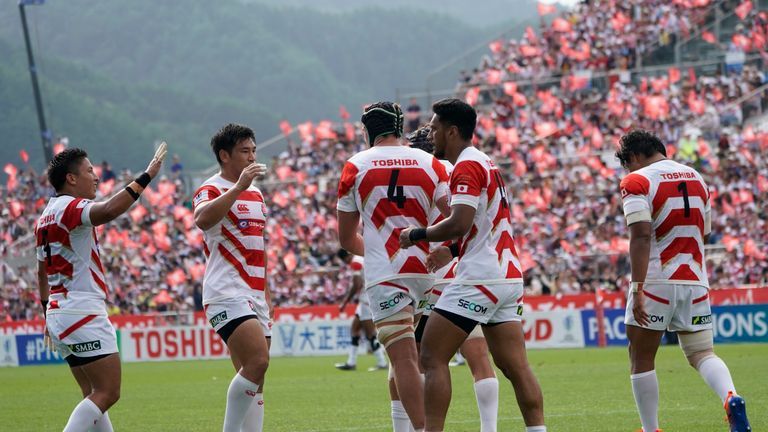 World Cup hosts Japan clinched this year's Pacific Nations Cup