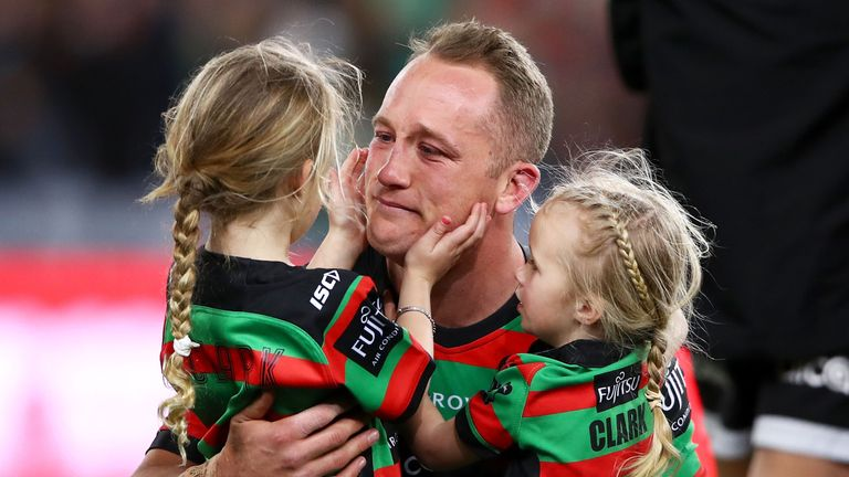 Jason Clark enjoyed a long spell with the Rabbitohs before him and his family moved to the UK