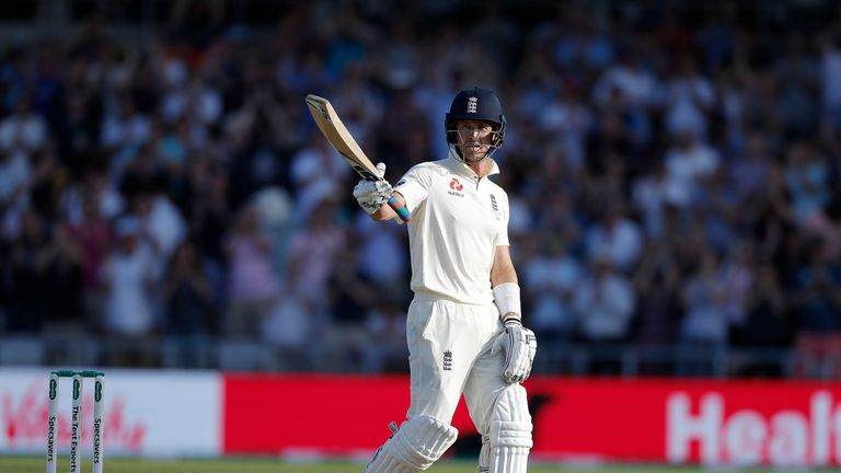 Denly's top Test total is the 94 he hit against Australia at The Oval in September