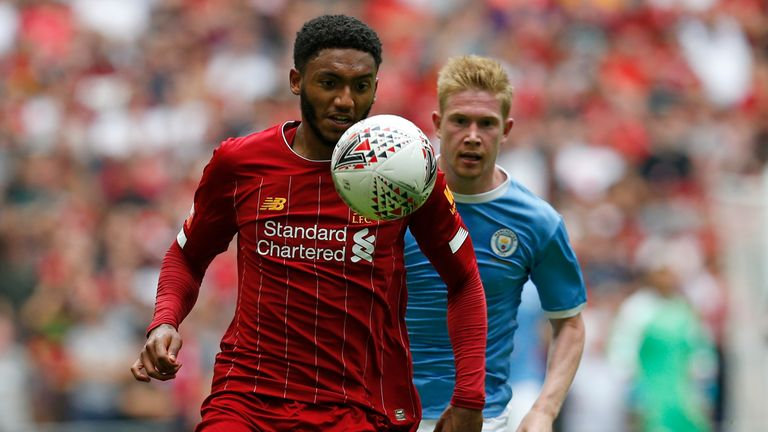 Joe Gomez may be brought in at right-back to strengthen Liverpool's defence