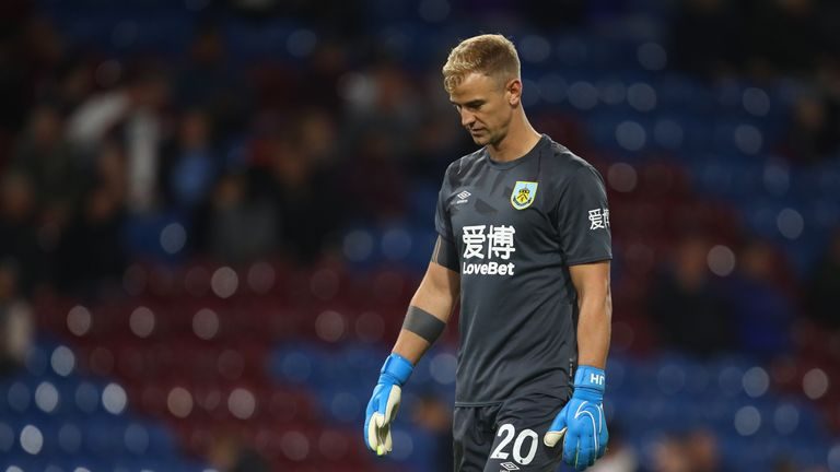 Joe Hart has been warming the bench at Burnley but gets a starting berth in our free XI