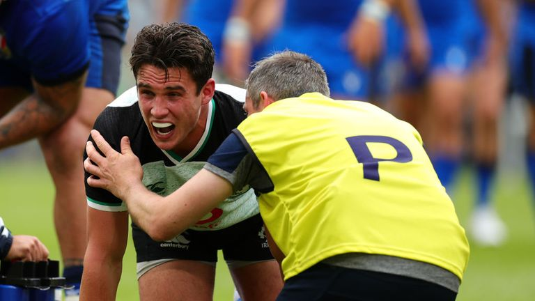Joey Carbery faces an anxious wait to prove his fitness for the World Cup