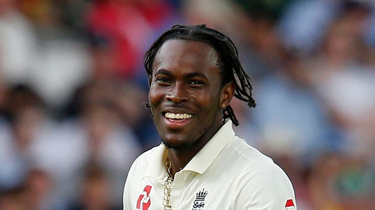 Jofra Archer took 2-59 from 29 overs as Australia were dismissed for 250 in their second innings at Lord's