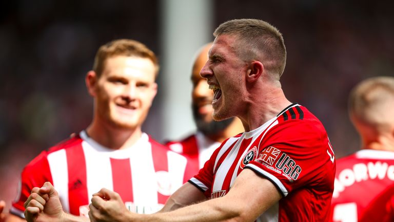 John Lundstram scored the winner as Sheffield United beat Crystal Palace last weekend