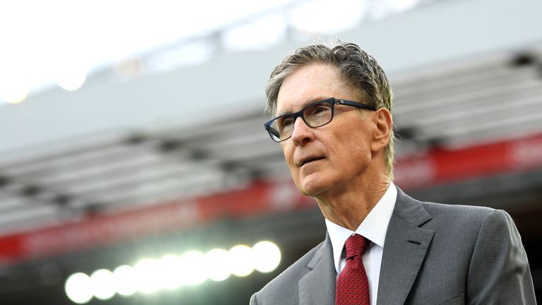 John W Henry is Liverpool's principal owner
