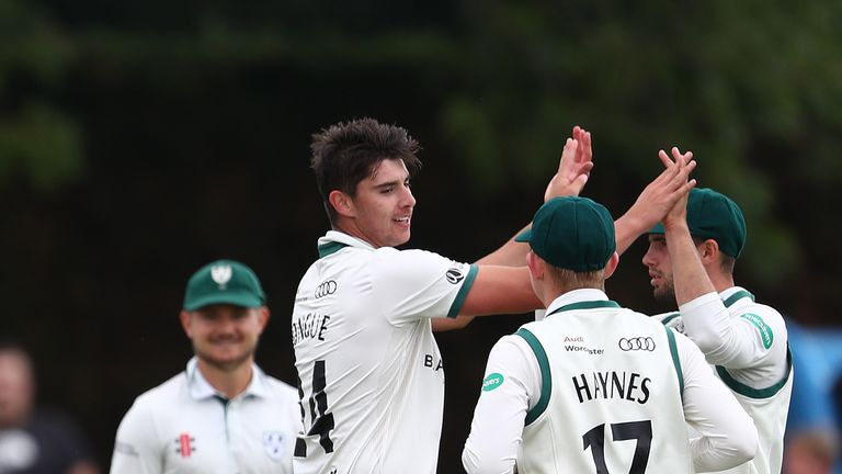 Josh Tongue unsettled the Australian top order in their tour match with Worcestershire ahead of the Lord's Test
