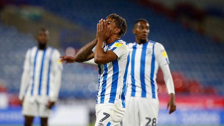 Huddersfield were knocked out by Lincoln in the first round of the Carabao Cup