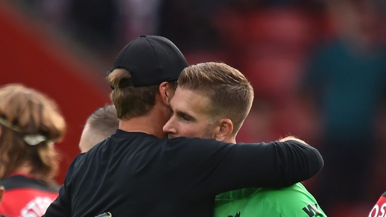 Jurgen Klopp laughs off Adrian error as 'Liverpool goalie thing' after Southampton win
