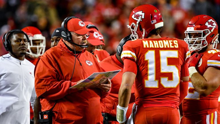 Andy Reid's Kansas City Chiefs are highly fancied to enjoy another strong season in 2019