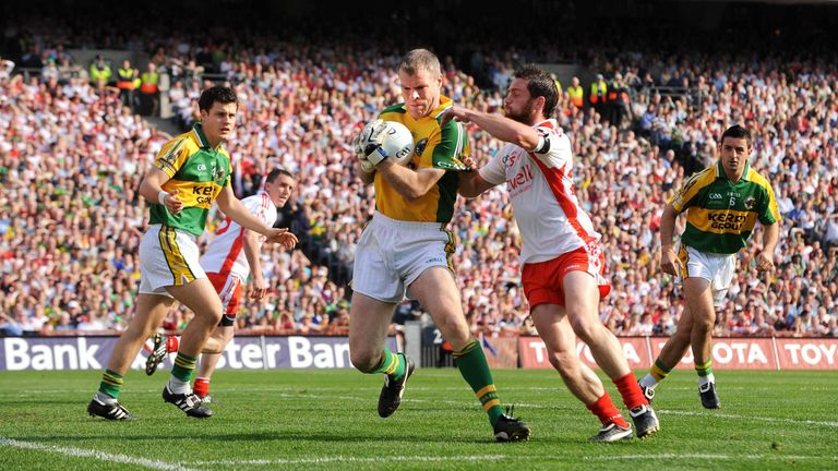 Diarmuid Murphy was on the losing side against Tyrone in 2005 and 2008