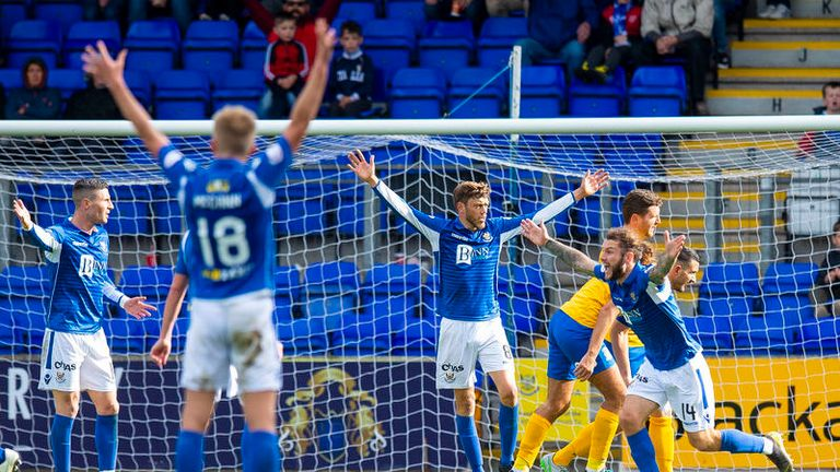 St Johnstone's penalty shouts fell on deaf ears