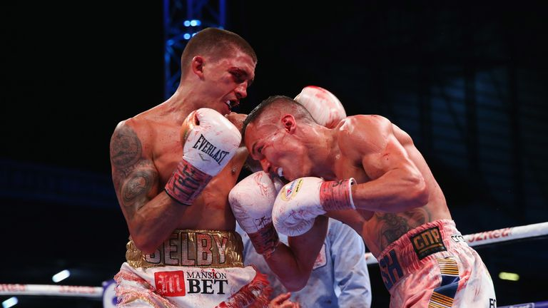 Selby lost his IBF world featherweight title to Josh Warrington last year before stepping up in weight