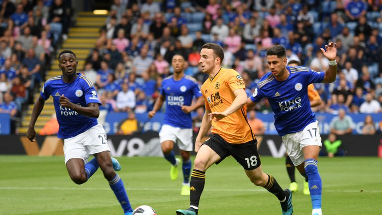 Ayoze Perez was handed his Leicester debut but had a quiet game