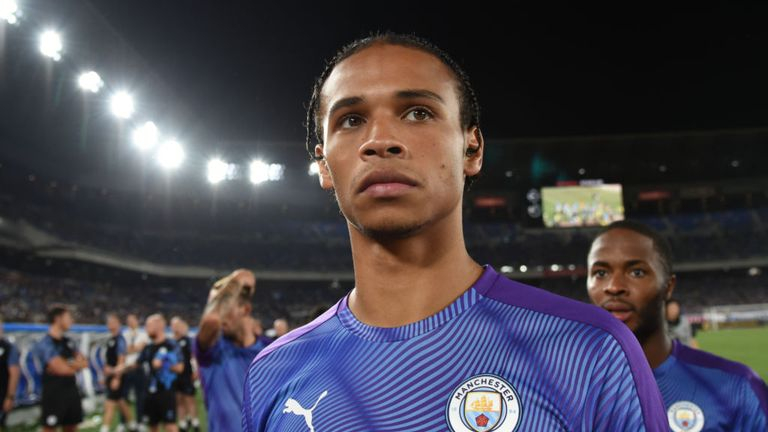 Leroy Sane is a top target for Bayern Munich