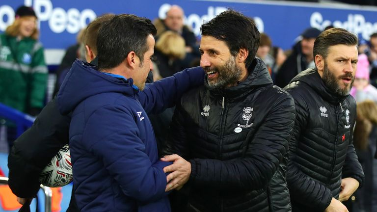 Marco Silva will face the Cowley brothers once again