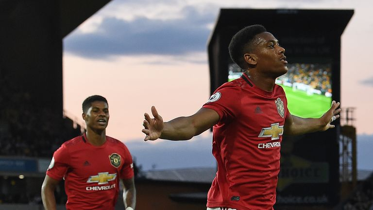 Anthony Martial impressed for Manchester United even as they were held