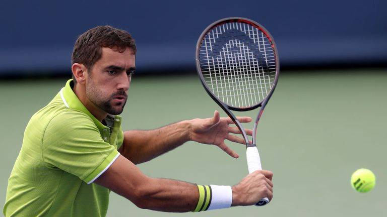 Marin Cilic has a year to date win-loss record of 15 to 12