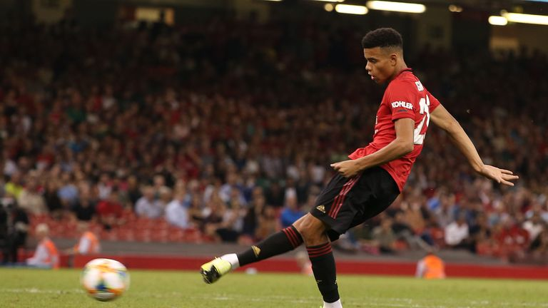 Mason Greenwood is still waiting to score his first competitive goal for United