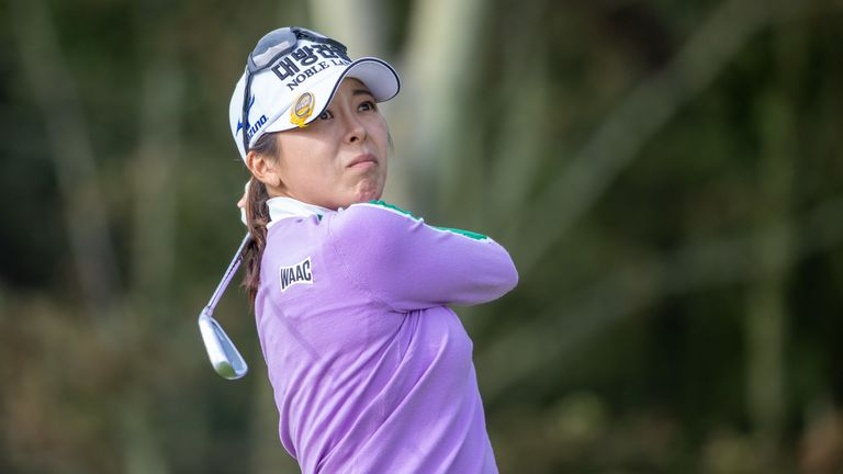 Mi Jung Hur was in spectacular form on Friday