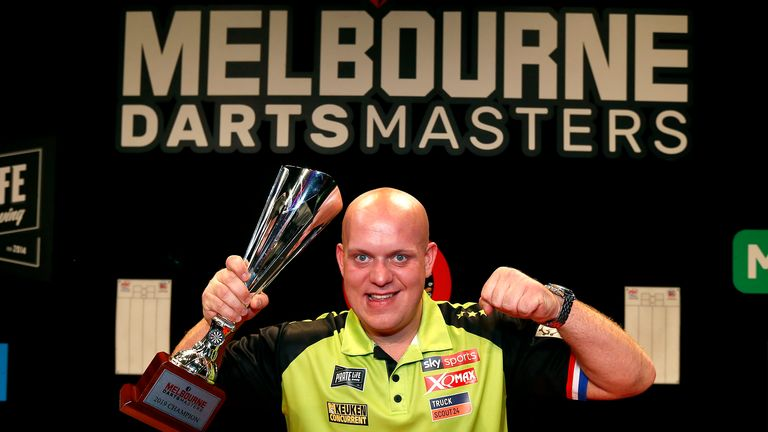 Michael van Gerwen claimed his first TV title since May