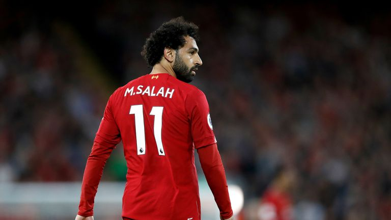 Mohamed Salah was on target for Liverpool in their win over Norwich