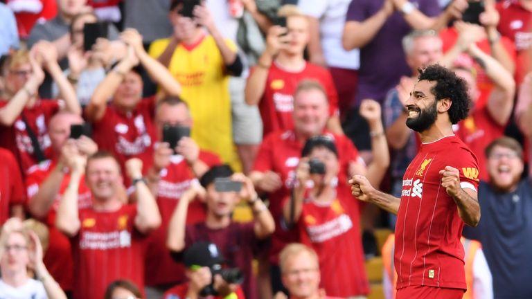Mo Salah has scored three Premier League goals in as many games so far