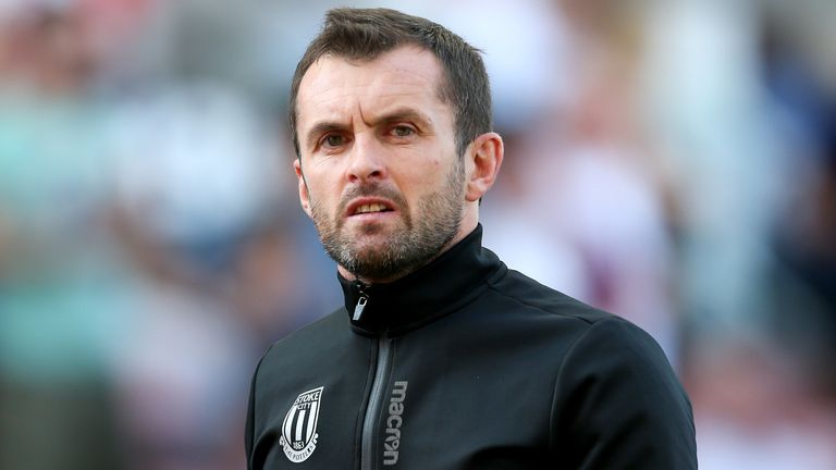 Stoke boss Nathan Jones has overseen just four wins in his first 32 games at the club