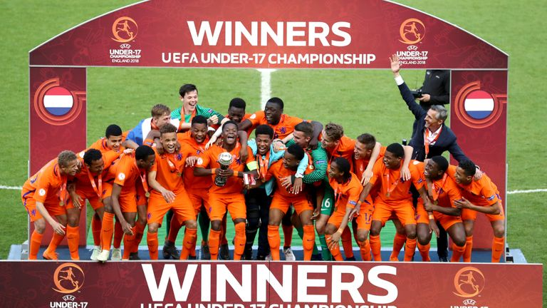 A diverse Netherlands team became U17 European champions last year