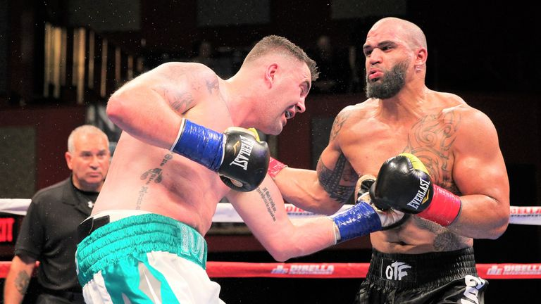 Kennedy has eight knockouts in 13 wins with one draw
