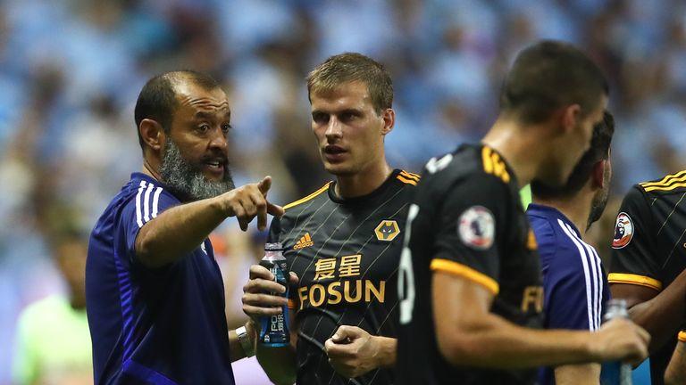 Nuno Espirito Santo has been a huge influence on Bennett at Wolves