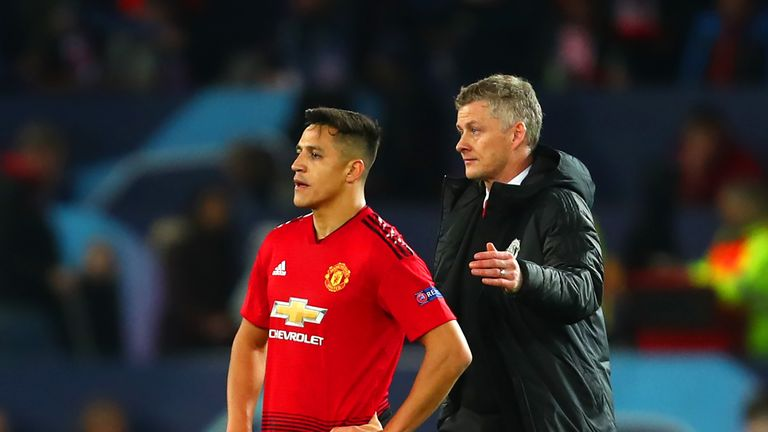 Sanchez has scored just five goals since joining United in January 2018