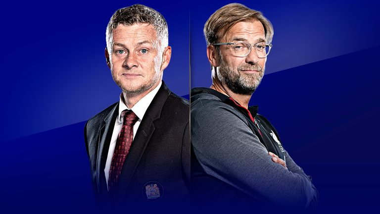 Ole Gunnar Solskjaer and Jurgen Klopp will go head-to-head on Super Sunday