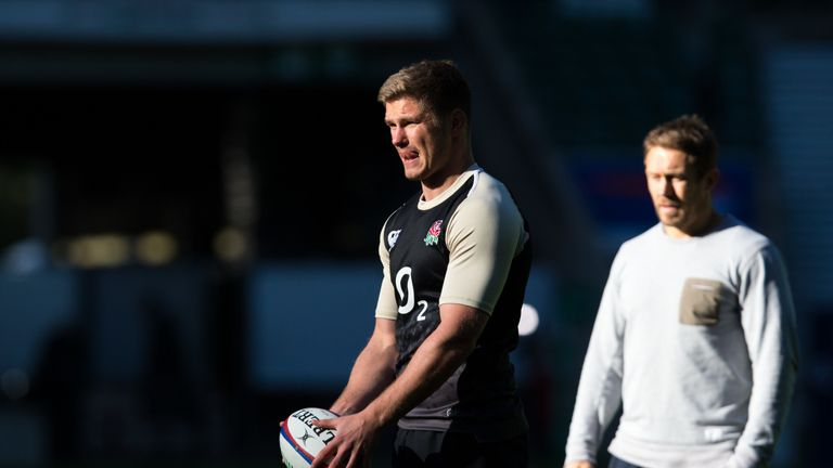 Ben Cohen would like to see Owen Farrell take a leaf out of  Jonny Wilkinson's book