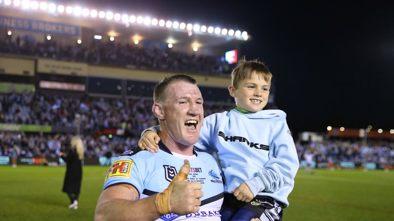 Gallen hangs up his boots after an incredible 18 seasons with the Sharks