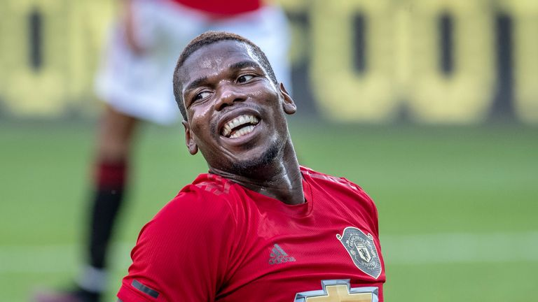 Juventus have not abandoned the idea of trying to sign Paul Pogba