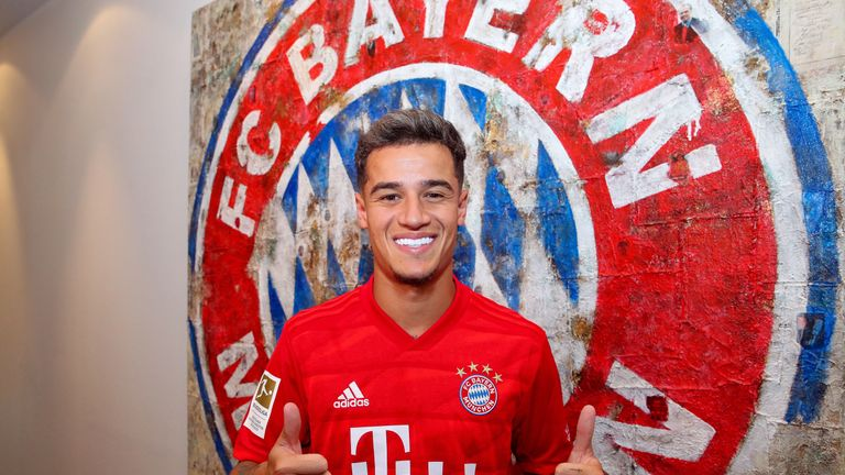 Philippe Coutinho has joined Bayern Munich on loan