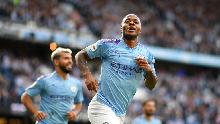 Raheem Sterling scored the opening goal of the game
