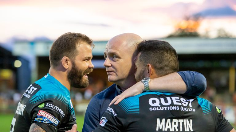 Former Hull and Wakefield boss Agar has a wealth of coaching experience