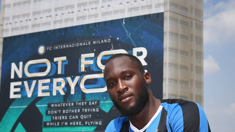 Serie A side Inter Milan have signed forward Romelu Lukaku from Manchester United