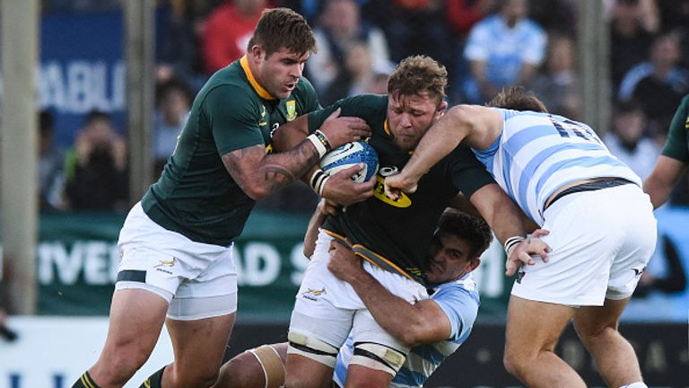Who makes your South Africa vs Argentina combined team?