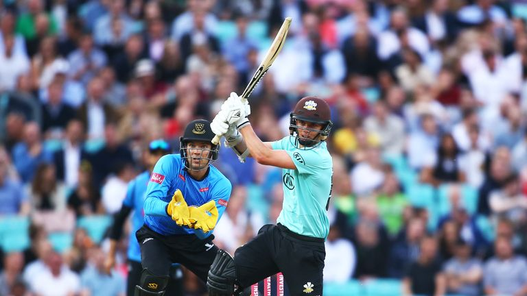 Sam Curran has scored 190 runs for Surrey in the Blast this season