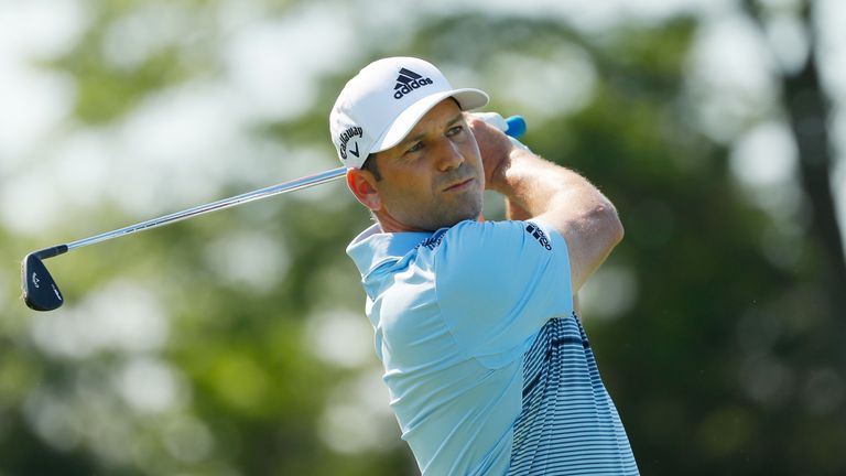 Garcia posted back-to-back 73s to miss the cut by five strokes
