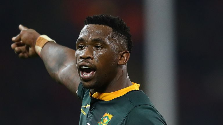 Siya Kolisi will lead an impressive Springbok side at the World Cup