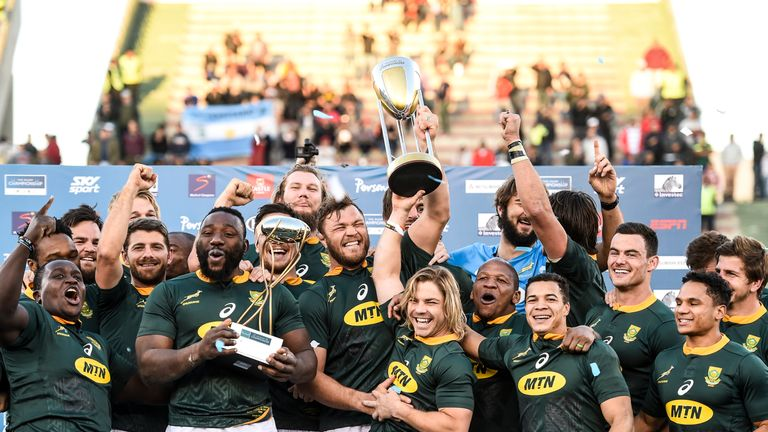 South Africa won last year's Rugby Championship, clinching their first title in a decade with a big win over Argentina in their final game