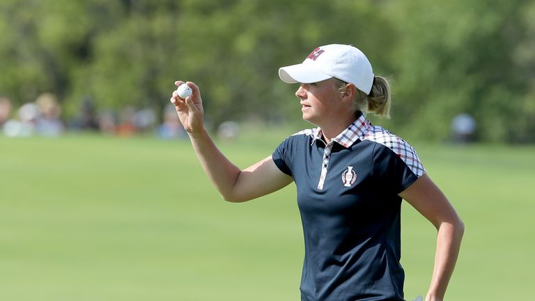 Stacy Lewis was named as a captain's pick for Team USA