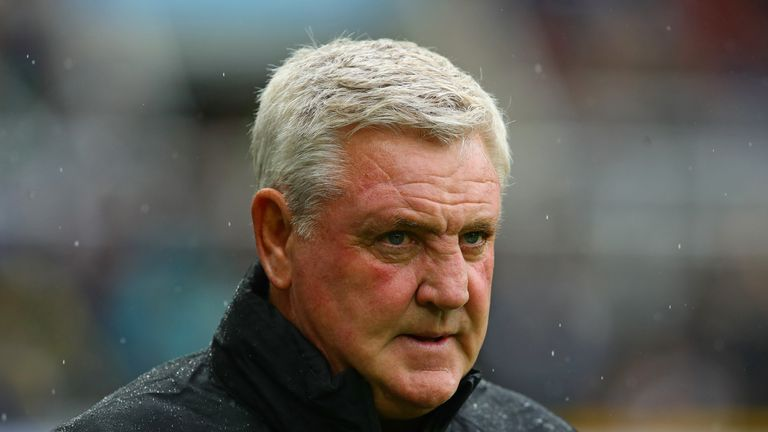 Steve Bruce has had a difficult start to life at Newcastle