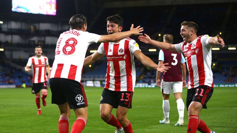 George Dobson scored Sunderland's third